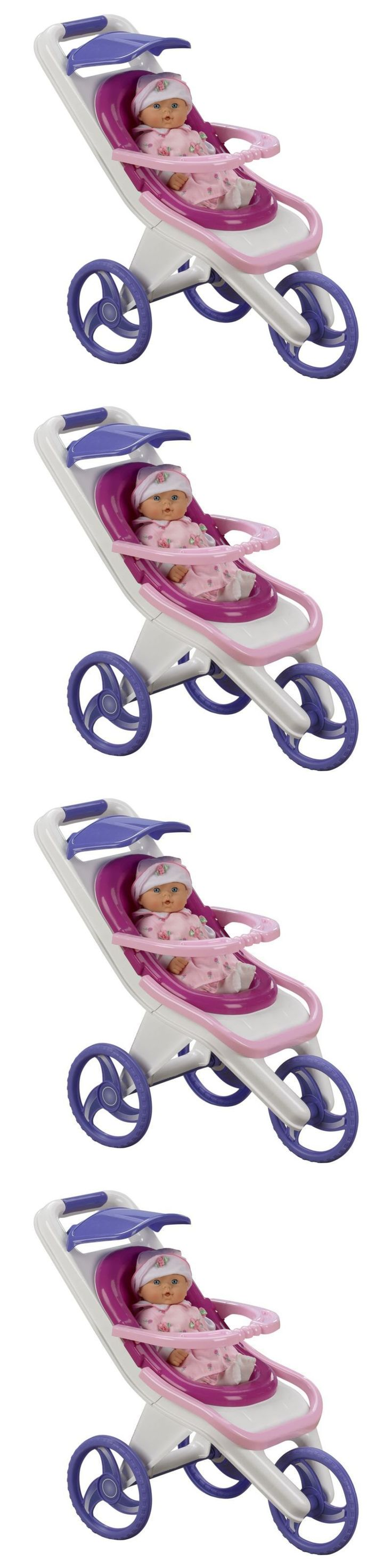 Other Preschool and Pretend Play 19181: 3 In 1 Baby Doll Stroller Toy For Girls Pretend Play With Carrier Feeding Chair -> BUY IT NOW ONLY: $32.92 on eBay!