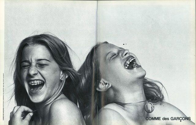 Comme des Garçons advertising campaign, Fall/Winter 1988-1989