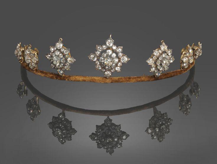A Late Victorian Diamond Tiara