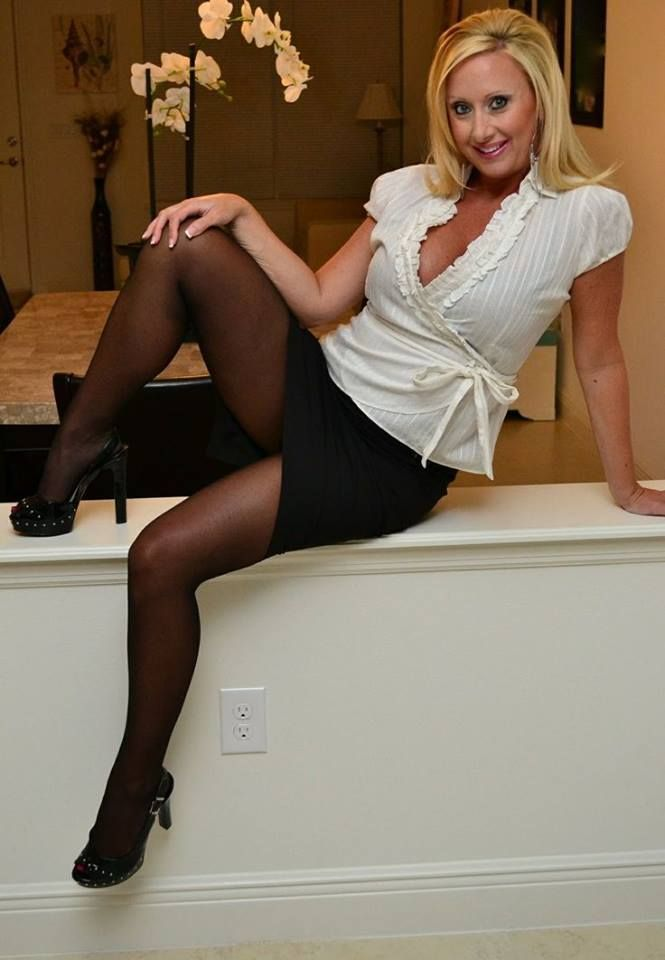 In Black Pantyhose What Could 88