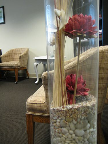 vase filler ideas for large clear glass vase | Large Vase Display