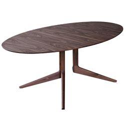 DE LA ESPADA Light Oval Dining Table