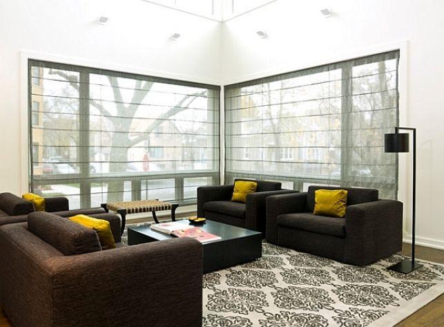 Best Die Besten Rmische Jalousien Ideen Auf Moderne Raffrollos Wohnzimmer  With Moderne Raffrollos Wohnzimmer