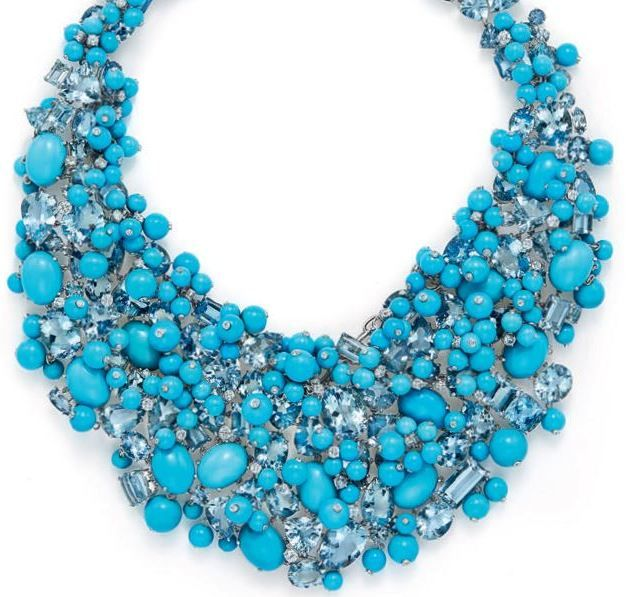"Tiffany & Co.: Blue Book Fine Jewelry ""The Art of the Sea"" necklace from The Well Appointed Catwalk"