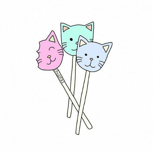 Paletas de gatitos