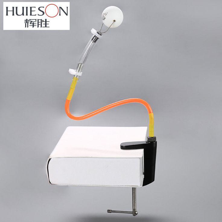 Huieson profesional tenis meja pelatihan robot tetap rebound cepat mesin bola tenis meja ping pong pelatih untuk membelai