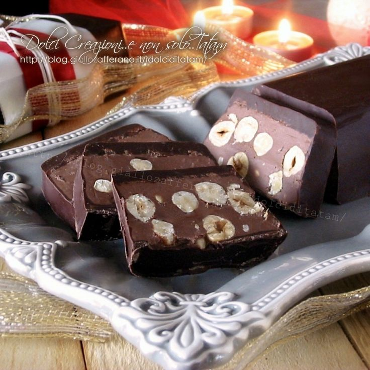 Torrone al cioccolato e nocciole1200