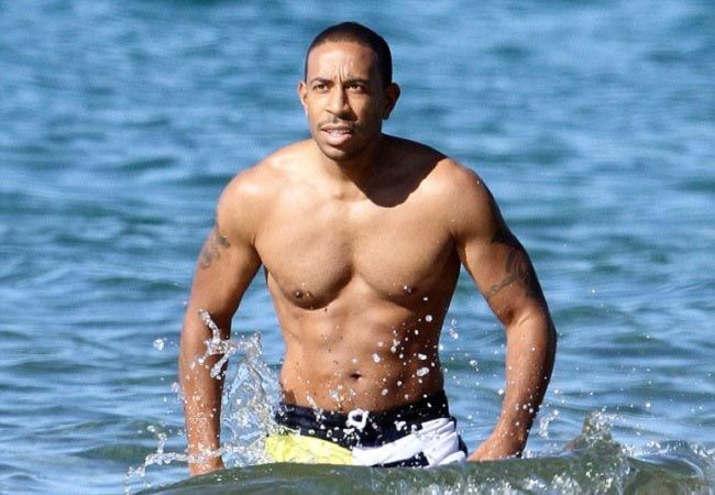 Ludacris shirtless body...