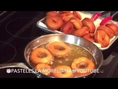 🍩  DONAS CASERAS PARA QUE HAGAS NEGOCIO / receta economica - YouTube