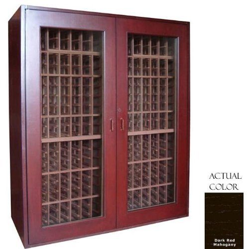 Vinotemp Vino-sonoma500-drm Sonoma 500 Bottle Wine Cellar - Glass Door / Dark Red Mahogany Cabinet by Vinotemp. $5939.00. Vinotemp VINO-SONOMA500-DRM Sonoma 500 Bottle Wine Cellar - Glass Door / Dark Red Mahogany Cabinet. VINO-SONOMA500-DRM. Wine Cellars. Premium wood and contemporary styling evoke a timeless appearance for our Sonoma Series Wine Cellars. With a storage capacity of up to 510 bottles, this model is the largest in the Sonoma Series and features all-wood Redwood ra...