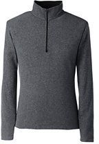 Lands' End Men's Big & Tall Fleece Half-zip Pullover-Balsamic