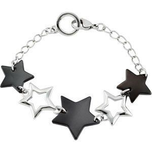 Star Bracelet Reeve and Knight. $88.00. This item features a high polish finish for Excellent sparkle and pop. Promptly Packaged with Free Shipping and Free Gift Box... Perfect for Gift Giving. Completely redesigned and revamped for the year 2012. This jewelry is symbolic in nature and can be the perfect gift for any and all occasions. Manufactured using up-to-date manufacturing techniques ensuring the highest quality and value