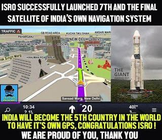ISRO scientists IRNSS satellite group on the successful launch of the 7th and final IRNSS-1G Congratulations !!  #joinbjp  #bjpleaders