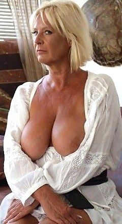 Nice mature breasts