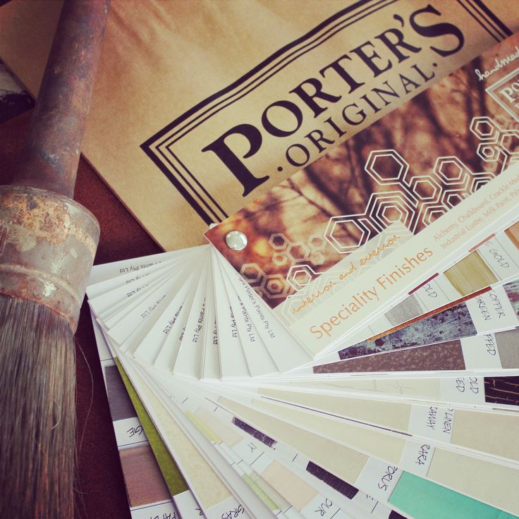 The gorgeous tactility of our fandeck comes from the loving application of our special finishes made by hand and collated by our creative Porter's Crew. Inspirational and innovative products that make Porter's Paints the market leader in speciality paint finishes, is something that has to be experienced first hand!Available online and in store, is a highly covetable and invaluable resource that is so uniquely us!