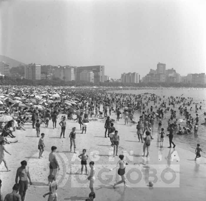 Praia de Botafogo, 1963.