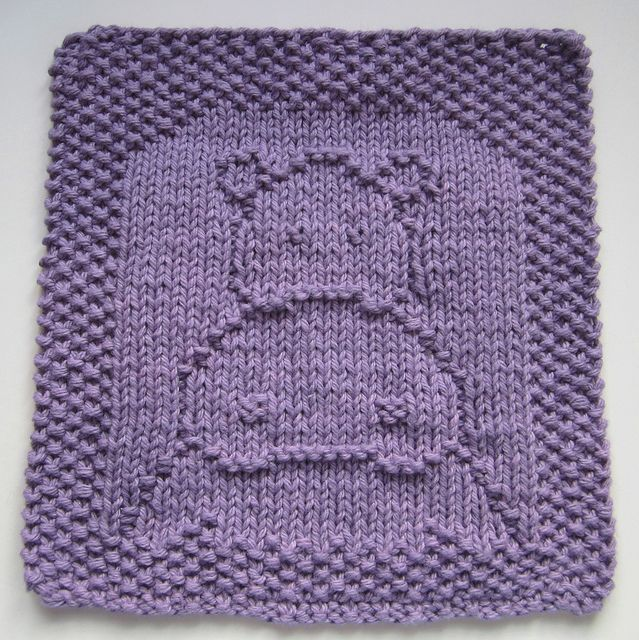 Hippo Cloth by cloverlaine - free Ravelry download