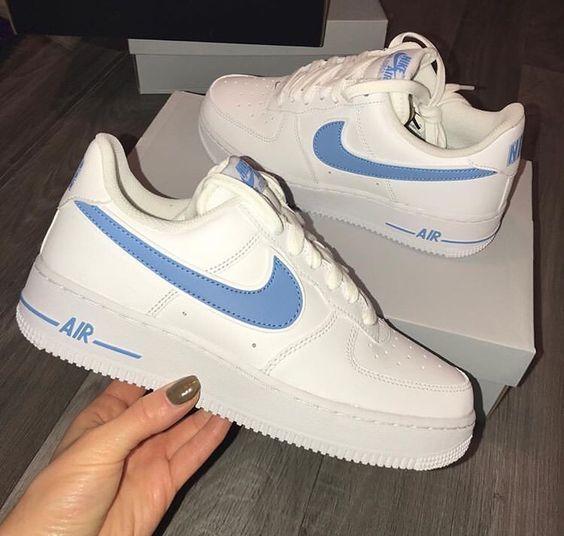 Nike Air Force 1'07 💙 – #AIR #chaussure #FORCE #Nike