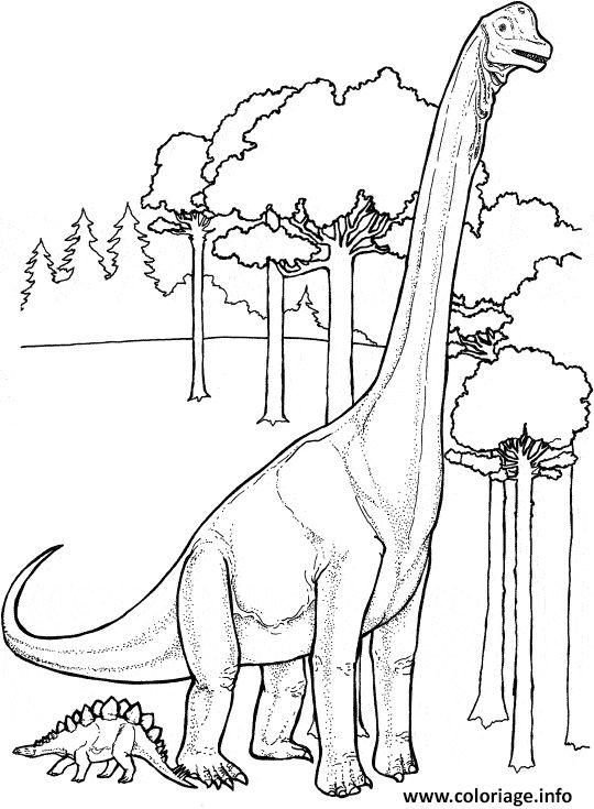 Coloriage dinosaure 61 à imprimer | Coloriage dinosaure ...