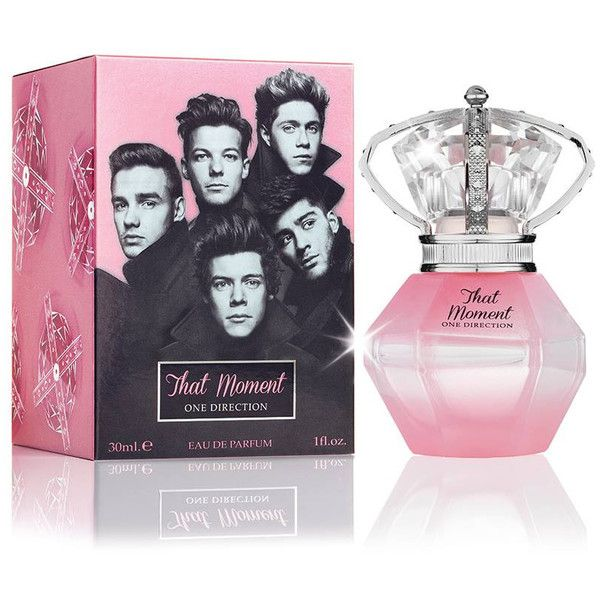 That Moment One Direction perfume - a new fragrance for women 2014 ❤ liked on Polyvore featuring beauty products, fragrance, perfume, one direction, makeup, beauty, accessories, parfum fragrance and perfume fragrance