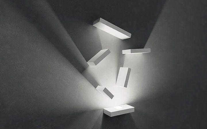 Lampa wewnętrzna, ścienna Vibia Set 7764 id: 30 | Wszystkie Lampy wewnętrzne \ LAMPY ŚCIENNE Kolekcje \ VIBIA
