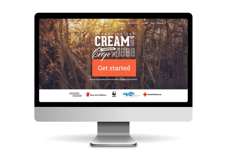 Website design and development for The Fundraising Academy.  www.thefundraisingacademy.co.uk #webdesign #webdevelopment #recruitment #fundraising
