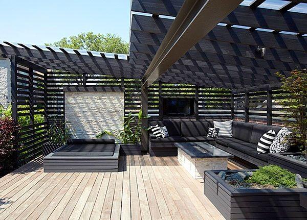 Outdoors // Rooftop deck