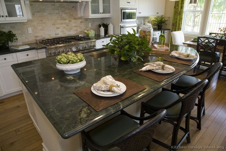 248 best images about countertops on pinterest butcher for Gourmet kitchen island