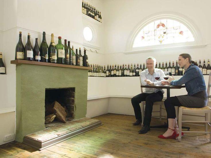 Dining Room Cellar #GreenHaven