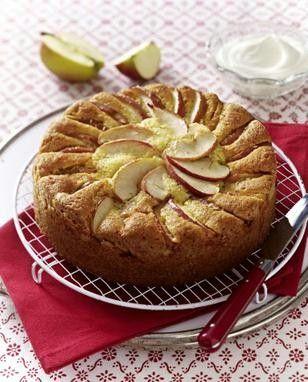 Das Rezept für Apfel-Mandelkuchen und weitere kostenlose Rezepte auf LECKER.de
