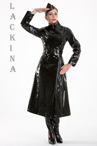 black pvc raincoat sexy fetish raincoat trenchcoat coat. Black Bedroom Furniture Sets. Home Design Ideas