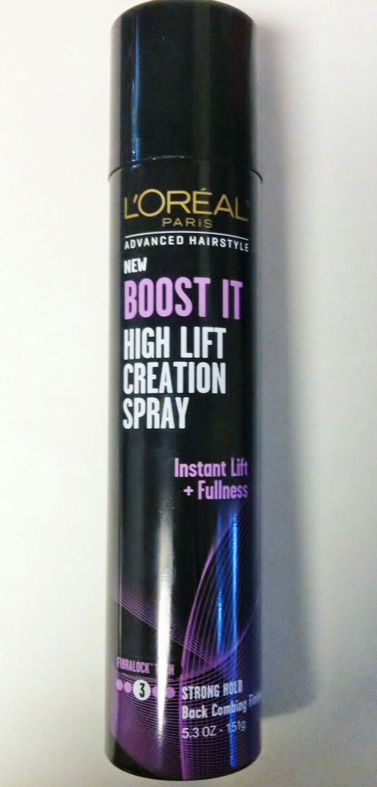 L'OREAL BOOST IT! Teasing spray. Omg I'm in love. It's $4.99 but it's as good as the $20 bedhead spray. Buy it!! /Lauren approved ;)