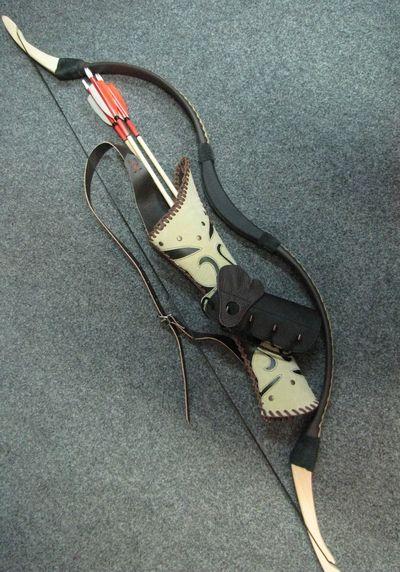 Wishlist: Hungarian Magor set - bow, quiver, armguard.
