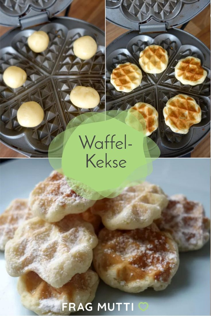 Bake waffle biscuits yourself   – Backen | Süßes Gebäck