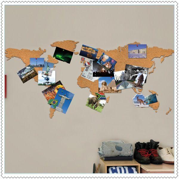 Image of Carte du monde en liège