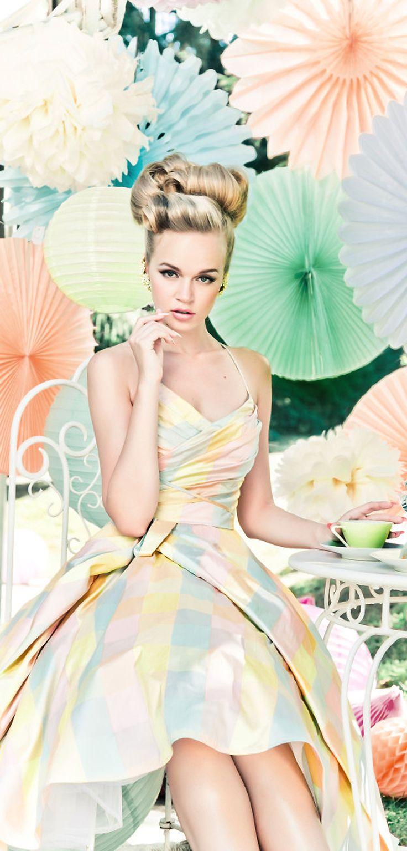 Lena Hoschek ... pastel fashion