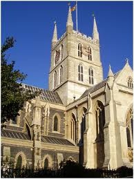 "Southwark Cathedral...but it's not pronounced that way.  Say ""southark"" or you will sound like a tourist."