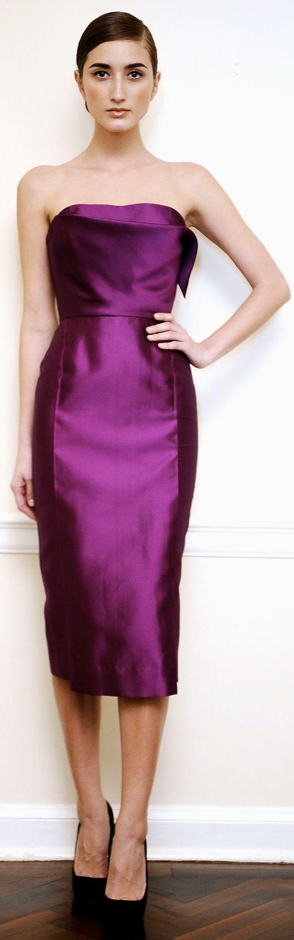 Hermosa Victoria Beckham Vestido De Novia Colección Componente ...
