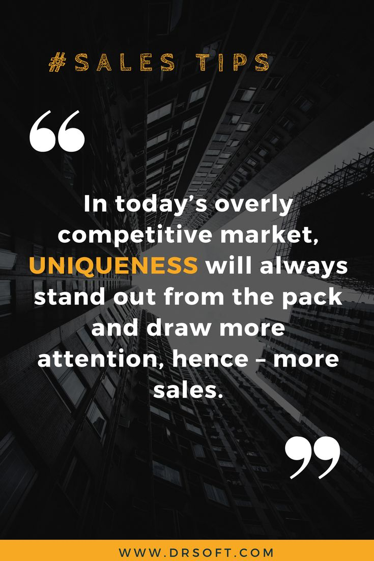 In today's overly competitive market, uniqueness will always stand out from the pack and draw more attention, hence– more sales. #ecommerce #amazontips #amazonselling #ecommercetips #salestips