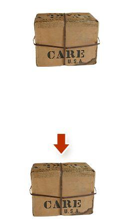 Das #CARE -Paket - eine großartige Idee aus der eine noch großartige Hilfsorganisation entstand.