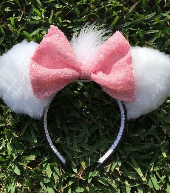 Marie Aristocats Inspired Ears by EarsByDede on Etsy