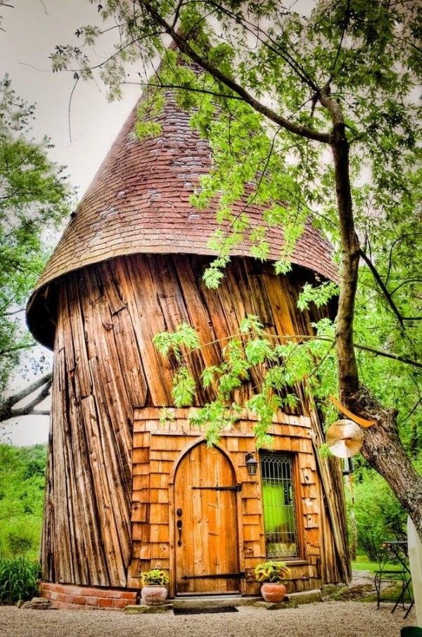 This Santarella Tiny Silo Cabin Is Located In Tyringham Massachusetts Its A Honeymoon On Beautiful Garden Estate With Few Other Cabins The
