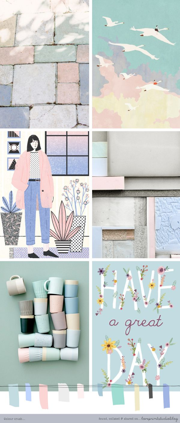 Colour crush... loveprintstudio blog                                                                                                                                                                                 More
