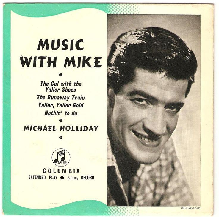 45cat - Michael Holliday - Music With Mike - Columbia - UK