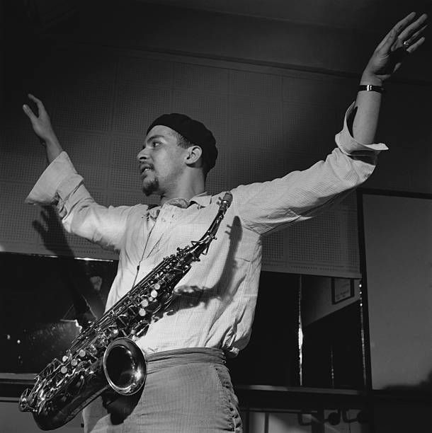 Alto saxophonist Jackie McLean during a rehearsal for his Let Freedom Ring album.