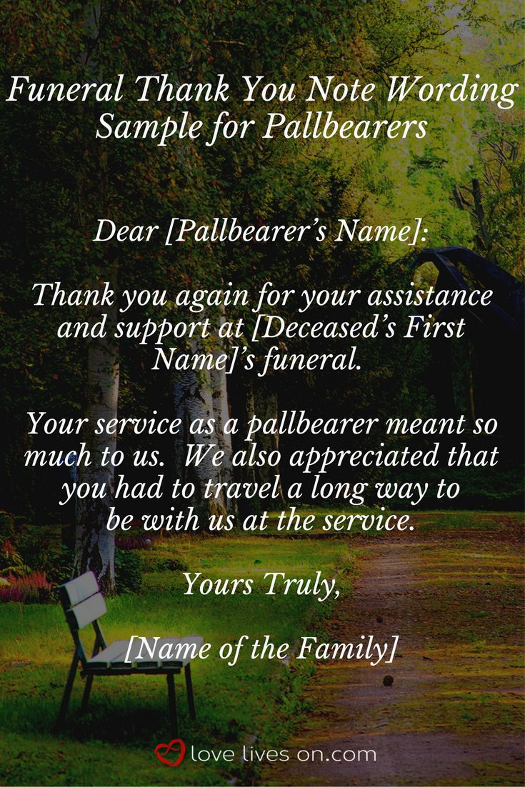 21 best pallbearers images on pinterest facts truths and bereavement 33 best funeral thank you cards izmirmasajfo