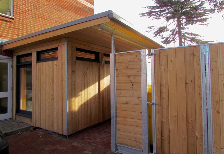 Industrial Modern Building Design, Traditional Joinery Modern Design Larch Clad Garden Walkway and Gate