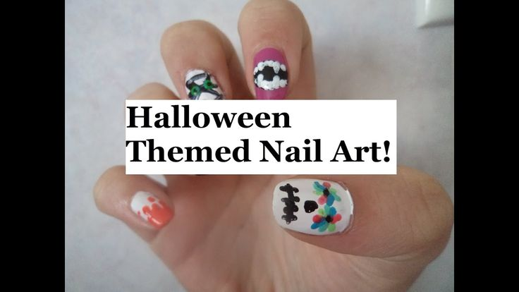 MORE AMAZING EASY DY HALLOWEEN NAIL ART!
