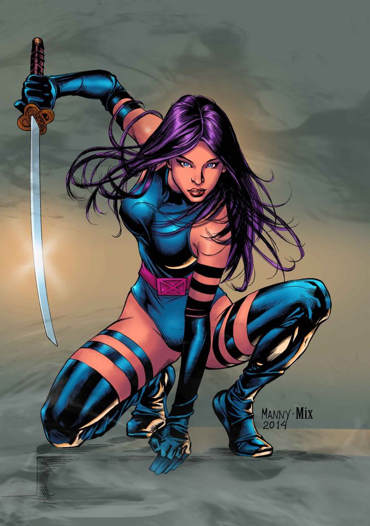 PSYLOCKE by MixGray on @DeviantArt