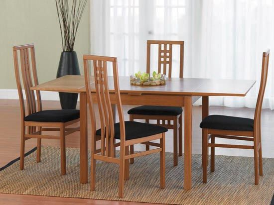 5 Piece Kitchen Table Sets Aid K45ss Beta Dining - Dania Furniture   Furnishing For ...